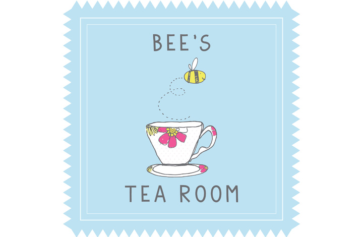 Bee's Tea Room logo