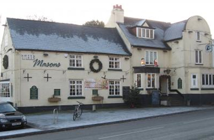 Masons Arms, Mickleover logo