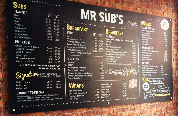 Mr Subs logo