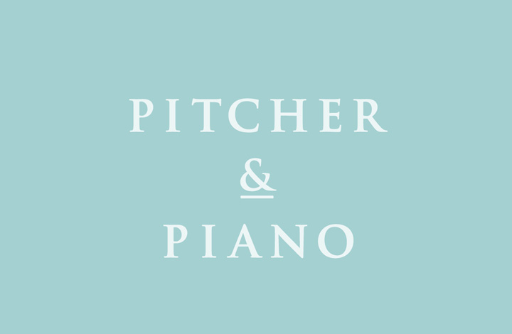 Pitcher and Piano logo
